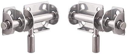 Concisea 2Pcs Pestillo de Acero Inoxidable Pestillo de Para Puerta Corredera Adecuado Para Puertas de Seguridad, Puertas de Madera, Puertas de Baños, Puerta de Mascota,etc: Amazon.es: Bricolaje y herramientas