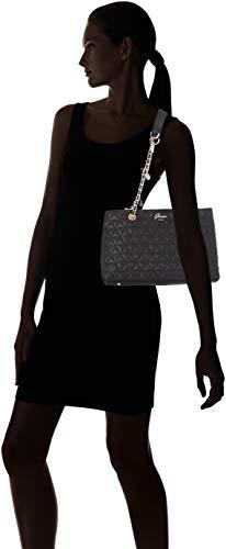 Fleur bla Mujer De Guess Bolsos Negro Shoppers Hombro Y black BpZwUO