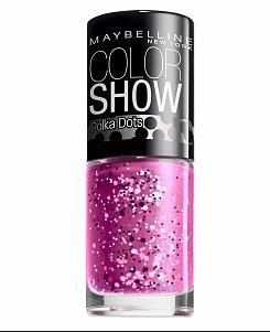 New Maybelline Color Show Nail Lacquer Polka Dots -85 Pretty in Polka (Nail Polish Maybelline Color Show compare prices)