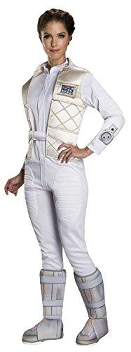 Princess Leia Slave Girl Halloween Costume (Rubie's Women's Star Wars Classic Princess Leia (Hoth), as Shown,)