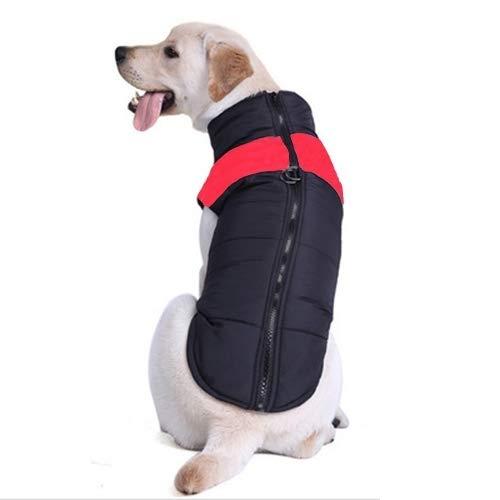 Red Cotton Pet Dog Vest Skit, Size  5XL, Chest  68cm, Back Length  60cm (color   Red)