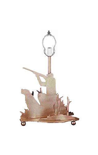 Meyda Tiffany 29281 Hunter Table Lamp Base, 13.5