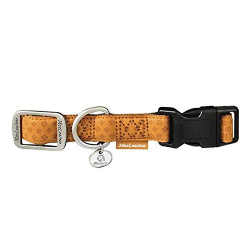 Nayeco Collar Mac Leather Marron 20Mm X 35-50Cm: Amazon.es: Jardín