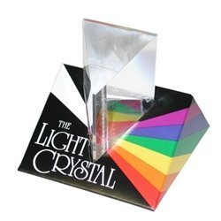 Toy / Game Multicolored Tedco Light Crystal Prism - 2.5'' With Wonderful Kaleidoscopic Patterns And Instructions