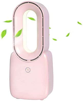 H&ZL Ventiladores USB sin Aspas, Ventilador Purificador de Aire ...
