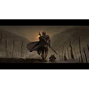 ZGNH Paint by Numbers Kits with Brushes and Acrylic Pigment DIY Canvas Painting for Adults – 16 x 20 inch(Without Frame) – Star War The Mandalorian