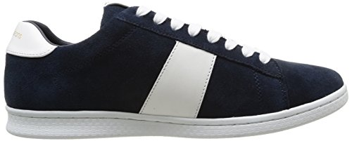 Calvin Klein Jeans HAL SUEDE/NAPPA - Zapatillas para hombre Azul (nvy)