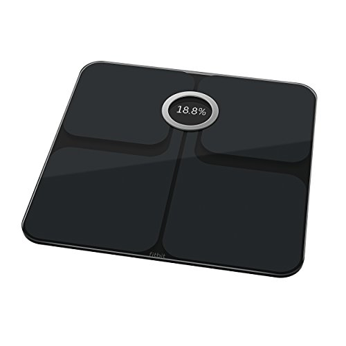 Fitbit Aria 2 Wifi + Bluetooth Smart Scale, Black by Fitbit (Image #1)