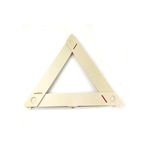 ouying1418 Car Auto Safety Emergency Reflective Warning Triangle Red Car Warning Sign