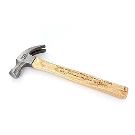 personalized hammer engraved hammer christmas gift for dad gift for dad birthday