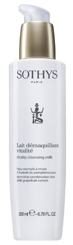 Sothys Vitality Cleansing Milk,6.7 oz