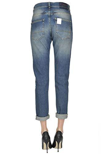 Bleu Pinko Femme Jeans MCGLDNM000004019I Coton EpfET6Rq