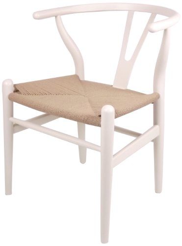 Control Brand DC541WHITE The Wishbone Chair