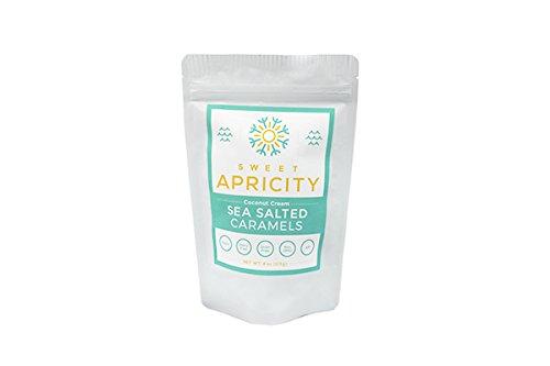 Coconut Cream Sea Salted Caramels, Paleo & AIP Friendly, 4 oz -