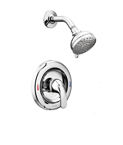 Chrome Self Cleaning Range - Moen 82604 Adler 1 Handle Shower Only Chrome Finish Faucet 1 1-Spray Valve