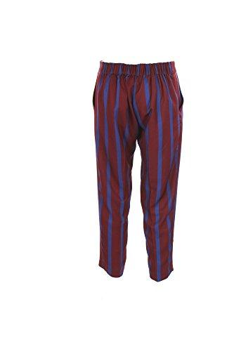 Pantalone Donna Vicolo L Blu/marrone To2467 Primavera Estate 2017