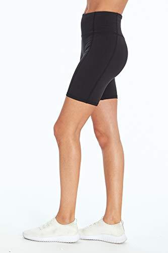 Jessica Simpson Sportswear Tummy Control Bermuda Short, Meteorite, X-Large