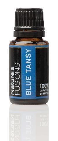 Nature's Fusions Exotic Essential Oils- Blue Tansy - Tanacetum Annuum 15 (Tanacetum Annuum Tansy Essential Oil)