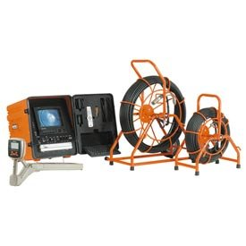 General Wire Gen-Eye Sdn Drain/Pipe Inspection Camera W/ 200' Standard Gel Rod/Color Camera,Sl-Sdn-B