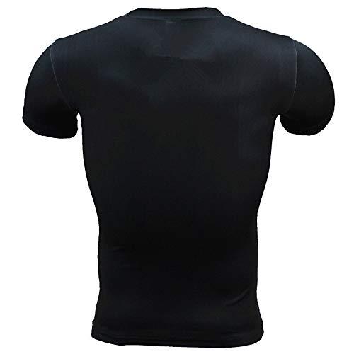 ChenYongPing Camiseta de Compresion Camisa de compresión de Manga ...