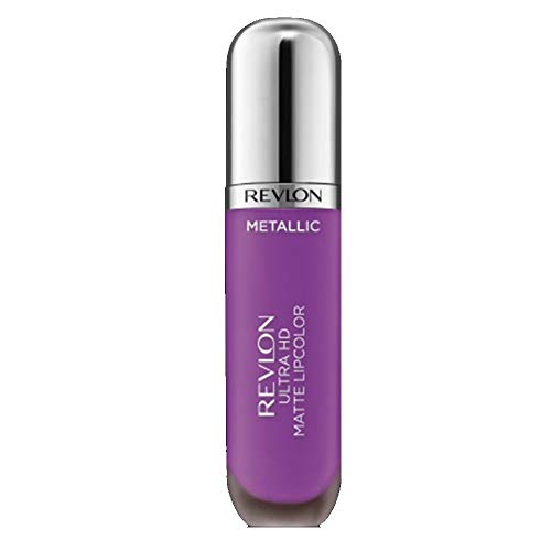 Revlon Ultra Hd Matte Metallic Lipcolor, 710 HD Dazzle (Pack of 2)