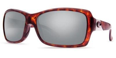 Costa Del Mar Sunglasses - Islamorada- Glass / Frame: Tortoise Lens: Polarized Silver Mirror Wave 580 - Costa Islamorada Sunglasses