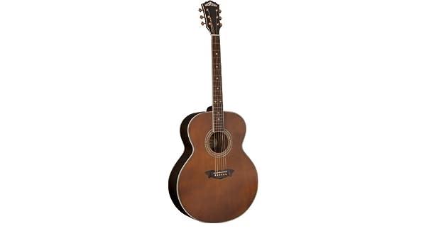 Washburn usm-wj130ek Vintage Series Guitarra Acústica, Vintage Mate: Amazon.es: Instrumentos musicales