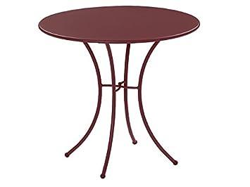Pigalle Table ronde Ø cm. 80 Emu Item.906 Couleur Marron d ...