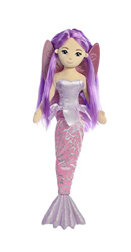 Mermaid plush aurora