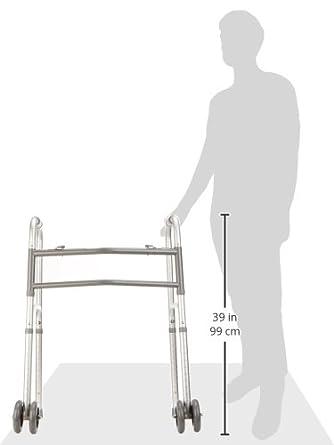 Amazon.com: Días 081561653 Bariatric Walker ajustable con ...