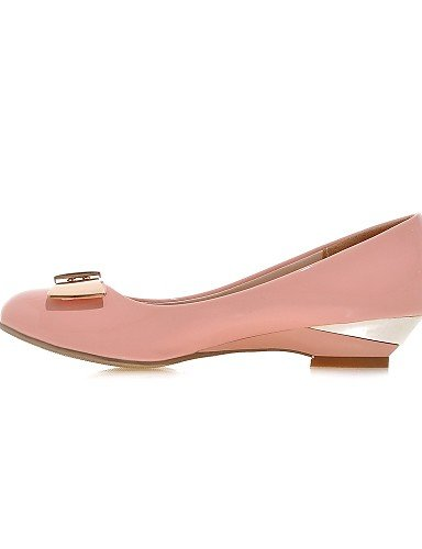 Zq 5 De Zapatos Eu42 5 Casual Cuña Rosa Negro Uk8 Mujer Cn36 us10 Cn43 Pink Blanco Semicuero Cuñas Eu36 White us6 Tacón Mocasines Uk4 rFrnZqWw