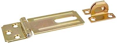 "National Hardware V30 3-1/4"" Safety Hasp in Brass"
