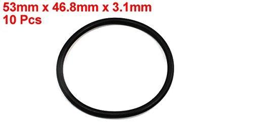 eDealMax de sellado del filtro de aceite de poli uretano O Anillos arandelas (10 piezas), 53mm x 3, 1mm - - Amazon.com