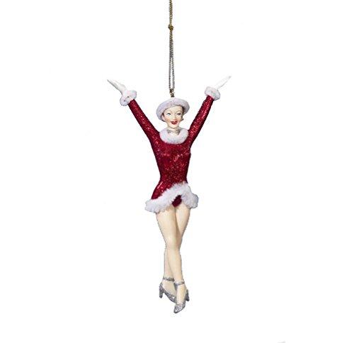 Kurt Adler Radio City Rockettes Girl Christmas Ornament
