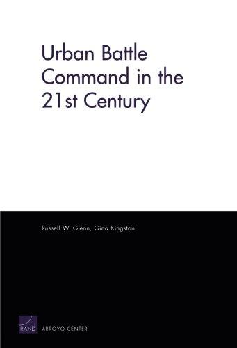 Urban Battle Command in 21st Century