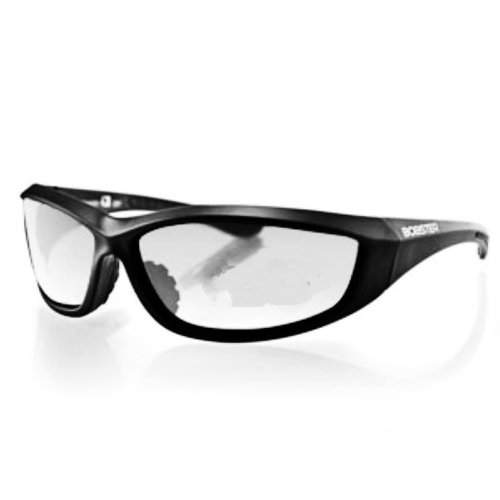 Charger Black Frame Anti-fog Clear Lens Eyewear Sunglasses