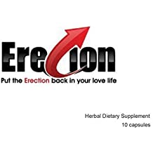ERECION EXTREME---America's STRONGEST Male Enhancement and Testosterone Booster (10 Caps) FREE Shipping Get Rock Hard in Minutes, Increased Libido, Size and Girth
