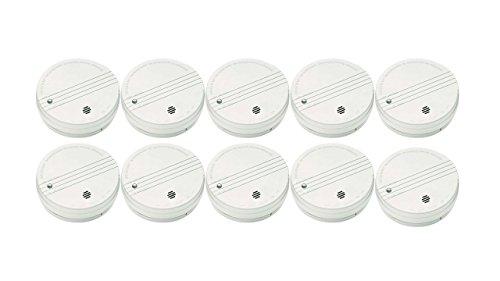 Kidde Battery Operated Smoke Alarm I9050, 10 pack
