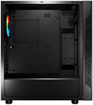 MSI mag VAMPIRIC 010X Mid-Tower Caja de PC Gaming (Negro, 1 x 120 ...