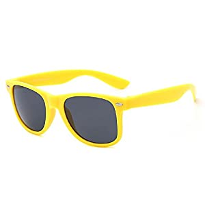 SUERTREE Vintage Sunglasses Retro Women Men Ladies Rimmed UV Protect