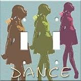 Art Plates - Dance Switch Plate - Single Toggle