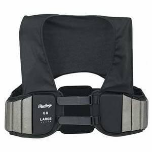 Rawlings Varsity Blocking vest (X-Large, Black) ()