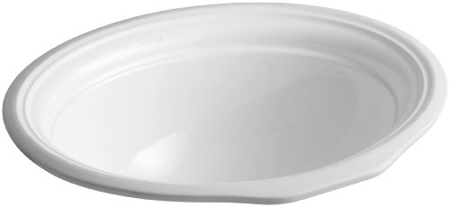 KOHLER K-2336-0 Devonshire Undercounter Bathroom Sink, -