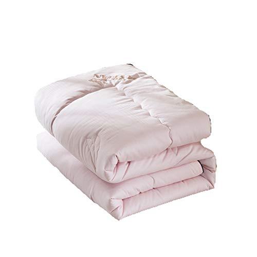 Amazon.com: ZLMI Colcha de algodón jacquard gruesa cálida de ...