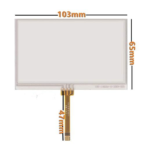 4.3inch Touch Screen for Sharp LQ043T3DX01/02/03/05 LQ043T1DG01 LQ043T1DG03 4-Wire Plug-in Type 10365 Resistive - yuebangkeji yuebangkeji