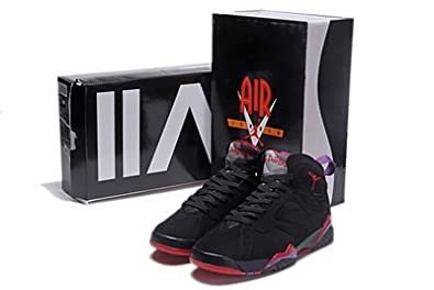 promo code 5341e 2d286 Image Unavailable. Image not available for. Color: Jordan Air 7 VII Retro  Raptors Men's Basketball Shoes ...
