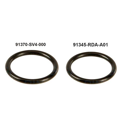 - Auto Rover For HONDA Power Steering Pump Rubber Inlet & Outlet O-Ring Seals for P/S Hi Pressure Hose, 2 PCS KIT 91345-RDA-A01 / 91370-SV4-000