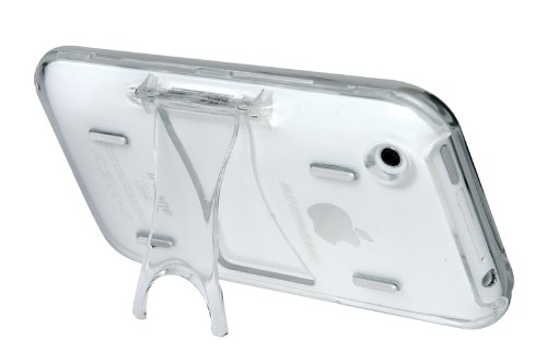Scosche Polycarbonate Case with Screen Protector for iPhone 3G, 3G S (Clear)