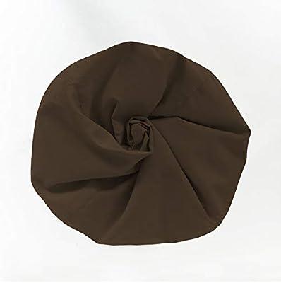 Lumaland Beanbag PUF otomano sillón Niño XL Comfortline 120 lt Costuras reforzadas marrón