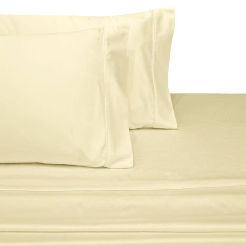 Ultra Soft U0026 Exquisitely Smooth Genuine 100% Plush Cotton 800 TC Sheet Set  By Pure Linens, Lavish Sateen Solid, 5 Piece Split King (Adjustable Bed)  Size ...